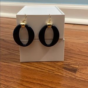 Jewelry - Navy and gold earrings.